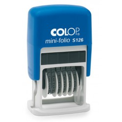 Colop S126 Mini Numéroteur - 6 chiffres