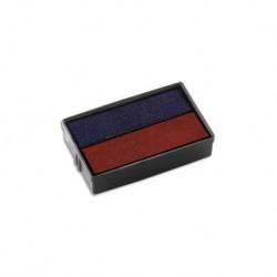 Encreur E/10/2 bicolore bleu/rouge Colop
