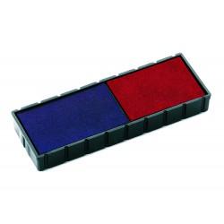 Encreur E/12/2 bicolore bleu/rouge Colop