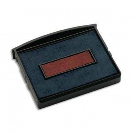 Encreur E/2300/2 bicolore bleu/rouge Colop
