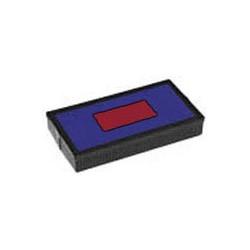 Encreur E/54/2 bicolore bleu/rouge Colop