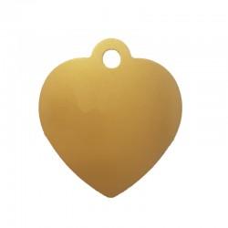 Médaille Coeur Doré