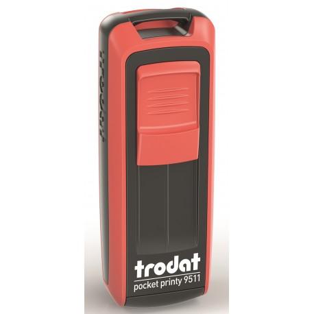 Tampon de poche Trodat 9511 - 3 lignes