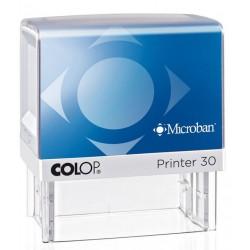 Colop Printer 30 MICROBAN - 4 lignes