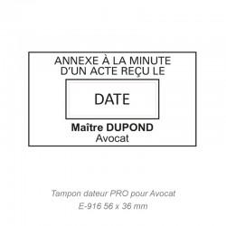 """DATEUR PRO """"ACTE RECU LE"""""""