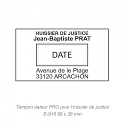 DATEUR PRO HUISSIER DE JUSTICE